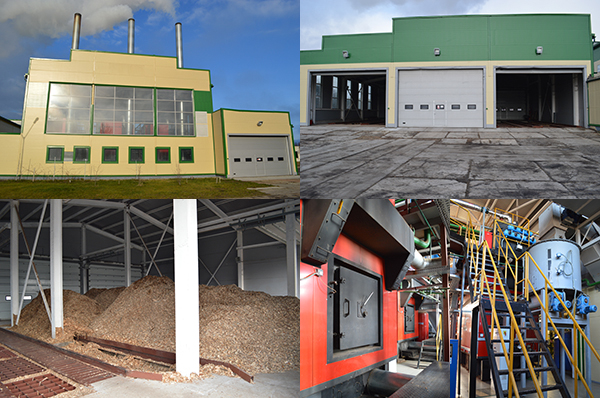 Opening of the biggest biomass boiler house in Ukraine