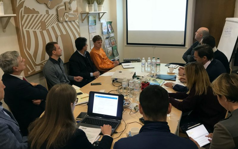 UABIO working group meeting on coordination of proposals for state support on the cultivation of energy crops in Ukraine