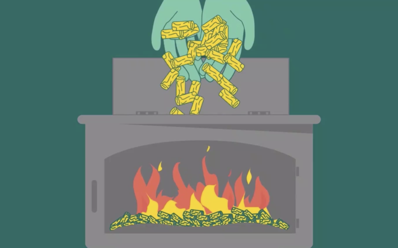 Heating with wood pellets is an effective way to combat climate change, preserve heat and save money