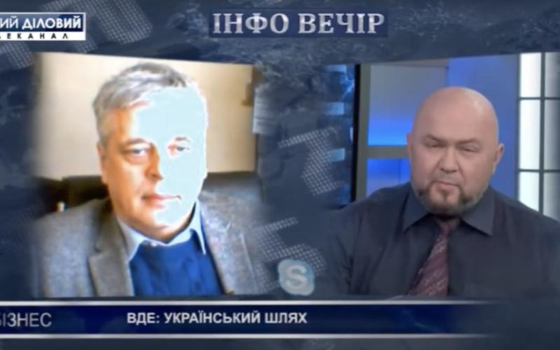 """ВДЕ: український шлях — інтерв'ю Георгія Гелетухи каналу """"Перший діловий"""""""