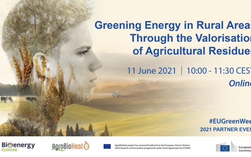 """Вебінар """"Озеленення енергії у сільській місцевості шляхом підвищення вартості сільськогосподарських залишків"""""""