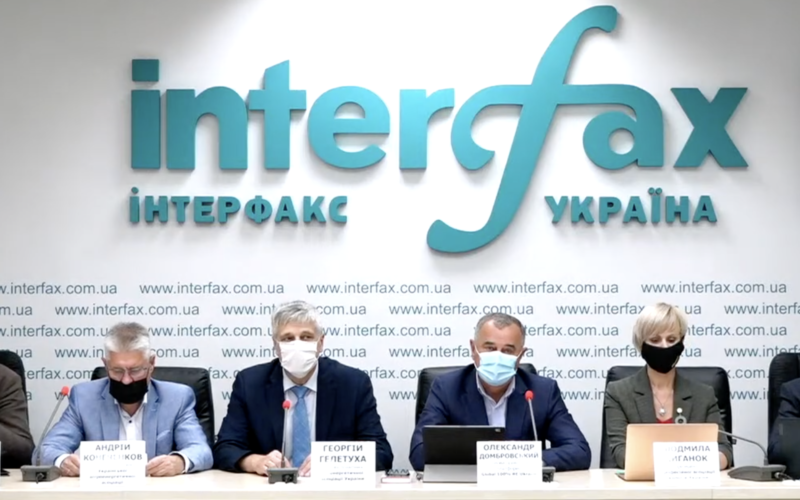 """The """"green"""" task for the parliament – the press conference of the Global 100% RE Ukraine platform"""