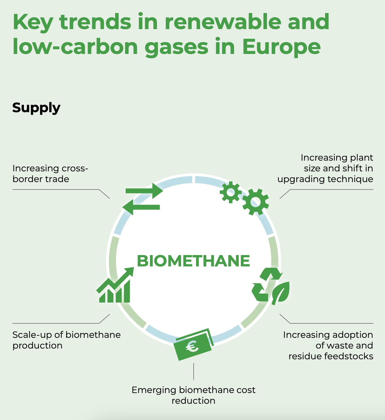 renewable and low-carbon gases in Europe